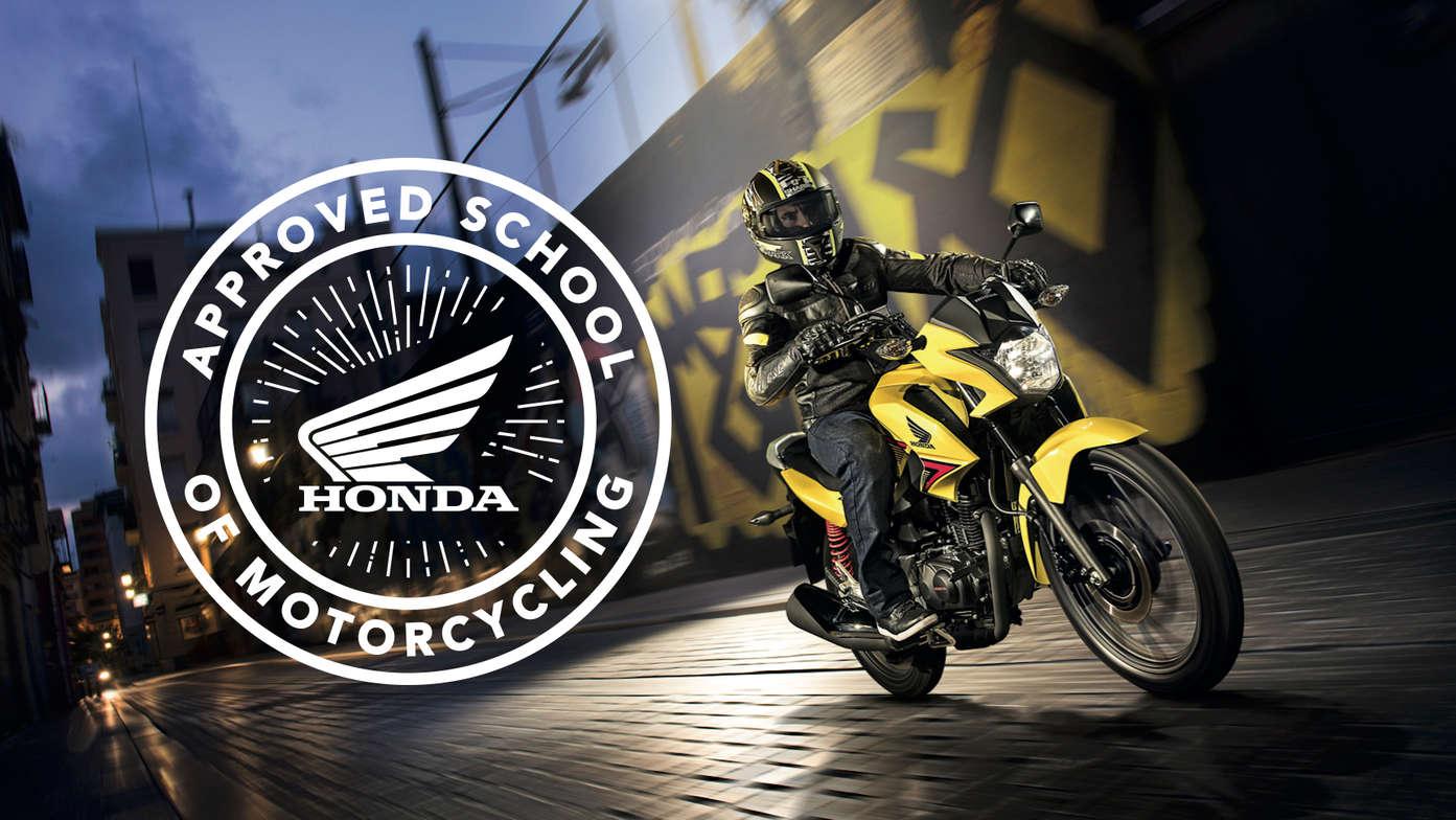 honda school of motorcycling – ride with us – motorcycles – honda