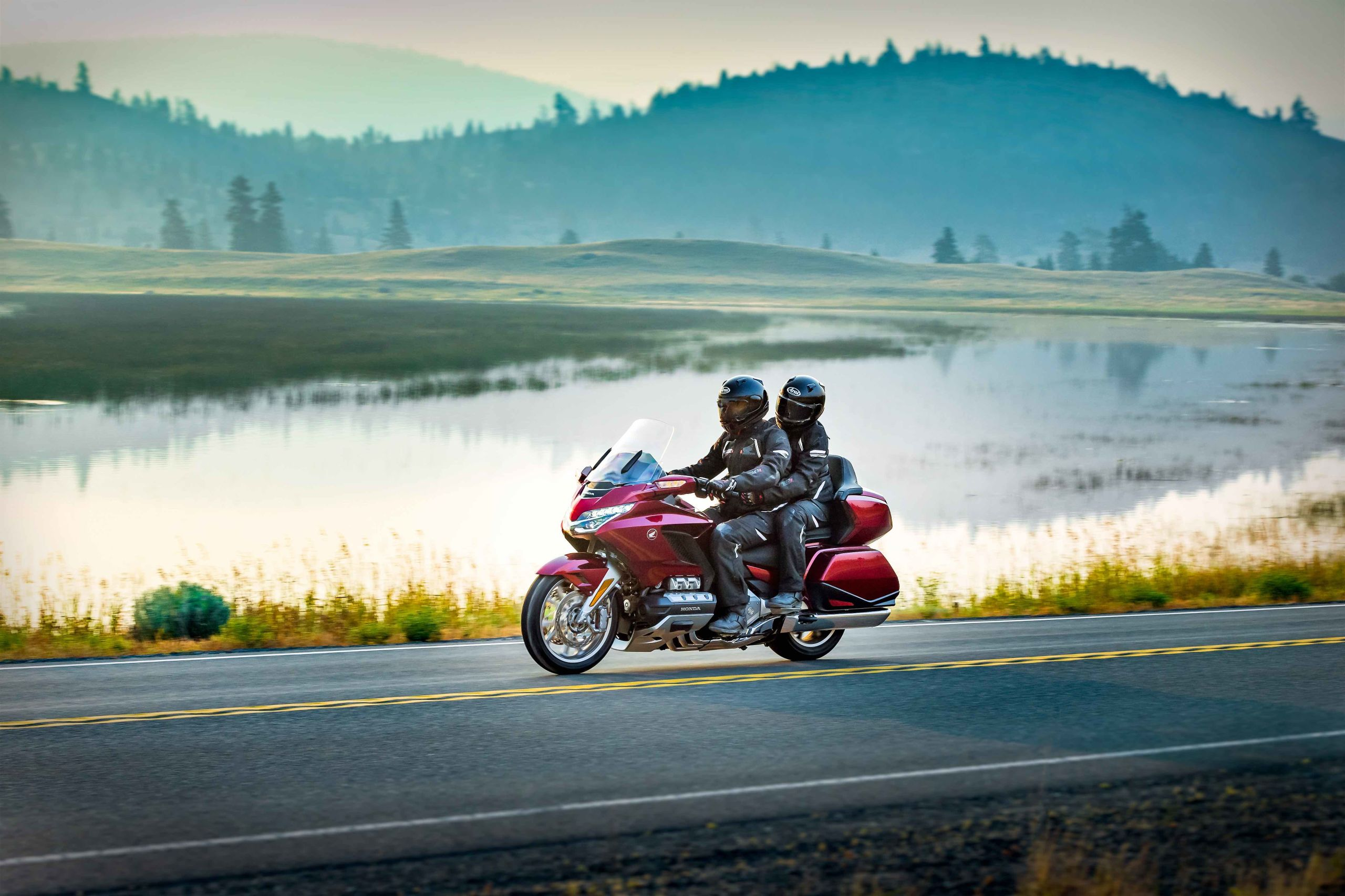 Why the Gold Wing is Special as a Pillion Rider | Honda ...
