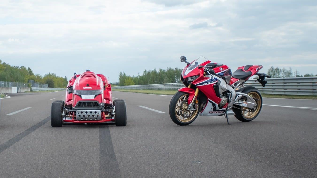 Výkon zabezpečuje Fireblade CBR1000RR SP Honda motor
