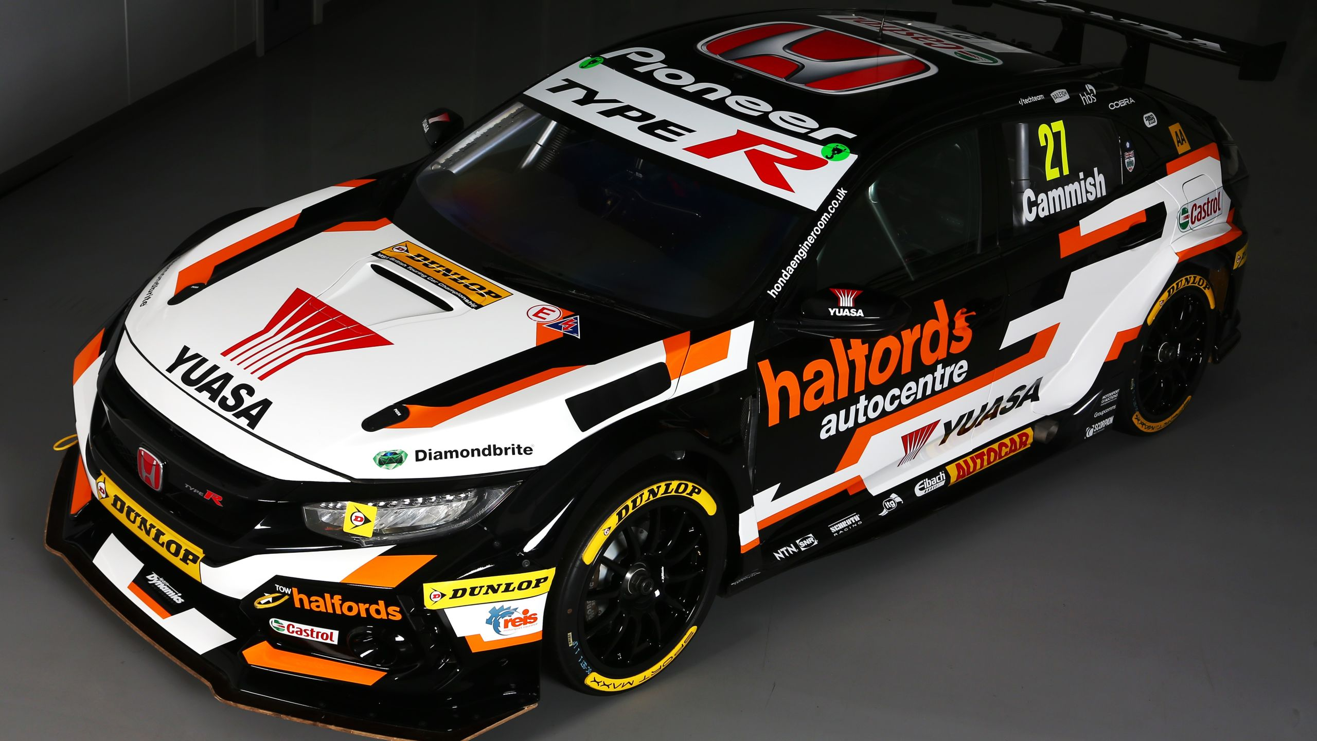 halfords yuasa racing livery reveal honda engine